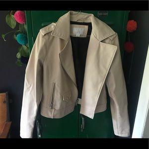 Xhilaration Blush Moto Jacket
